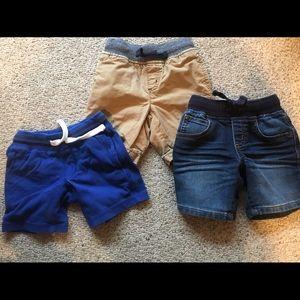 3T Gymboree boys shorts - 3 pc bundle